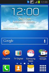 Como configurar pela primeira vez - Samsung Galaxy Young - Passo 1