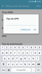 Como configurar a internet do seu aparelho (APN) - Samsung Galaxy S7 - Passo 12