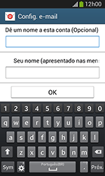 Como configurar seu celular para receber e enviar e-mails - Samsung Galaxy Grand Neo - Passo 9