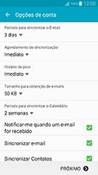 Como configurar seu celular para receber e enviar e-mails - Samsung Galaxy A5 - Passo 7