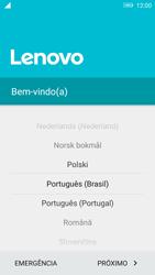 Como ativar seu aparelho - Lenovo Vibe K6 - Passo 4