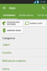 Como baixar aplicativos - LG Optimus L5 - Passo 6