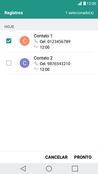 Como bloquear chamadas de um número específico - LG G5 Stylus - Passo 10