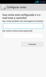 Como configurar seu celular para receber e enviar e-mails - Huawei Y340 - Passo 18