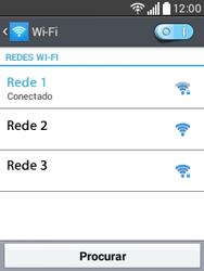 Como configurar uma rede Wi-Fi - LG L20 - Passo 8