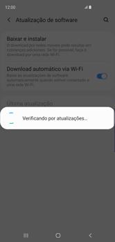 Como atualizar o software do seu aparelho - Samsung Galaxy S10 - Passo 6