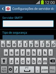 Como configurar seu celular para receber e enviar e-mails - Samsung Galaxy Pocket - Passo 13