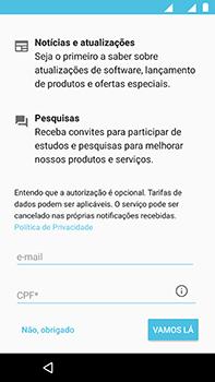Como ativar seu aparelho - Motorola Moto Z2 Play - Passo 17