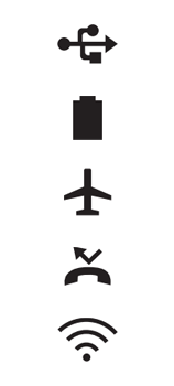 Explicação dos ícones - LG K62 - Passo 9