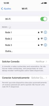 Como configurar uma rede Wi-Fi - Apple iPhone 11 Pro - Passo 4