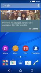 Como usar seu aparelho como um roteador de rede Wi-Fi - Sony Xperia M4 Aqua - Passo 1