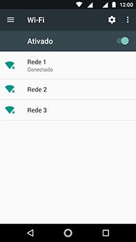 Como configurar uma rede Wi-Fi - Motorola Moto Z2 Play - Passo 7