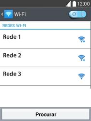 Como configurar uma rede Wi-Fi - LG L20 - Passo 6