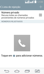 Como bloquear chamadas de um número específico - LG G2 Lite - Passo 8