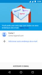 Como configurar seu celular para receber e enviar e-mails - Motorola Moto G5 - Passo 14