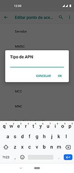 Como configurar a internet do seu aparelho (APN) - Motorola One Vision - Passo 14