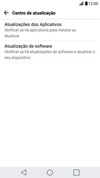 Como atualizar o software do seu aparelho - LG G5 Stylus - Passo 6
