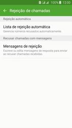 Como bloquear chamadas de um número específico - Samsung Galaxy J5 - Passo 9