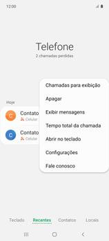Como bloquear chamadas de um número específico - Samsung Galaxy A51 - Passo 6