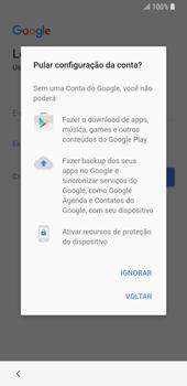Como configurar pela primeira vez - Samsung Galaxy S9 - Passo 11