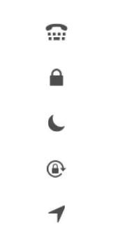 Explicação dos ícones - Apple iPhone 11 Pro - Passo 20