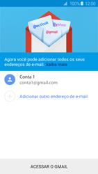 Como configurar seu celular para receber e enviar e-mails - Samsung Galaxy S6 - Passo 16