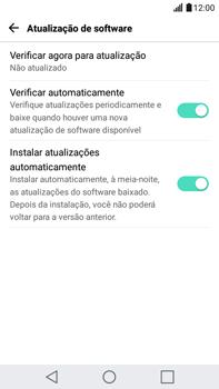 Como atualizar o software do seu aparelho - LG G5 Stylus - Passo 8