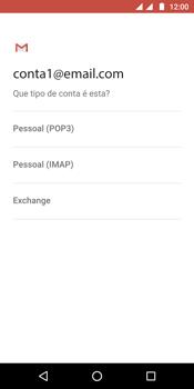 Como configurar seu celular para receber e enviar e-mails - Motorola Moto G6 Plus - Passo 10