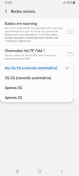 O celular não recebe chamadas - Samsung Galaxy A32 5G - Passo 8
