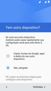Como configurar pela primeira vez - Motorola Moto G (4ª Geração) - Passo 13