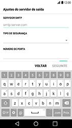Como configurar seu celular para receber e enviar e-mails - LG X Power - Passo 12