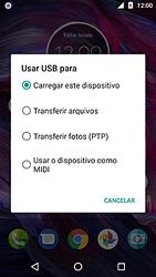 Transferir dados do telefone para o computador (Windows) - Motorola Moto X4 - Passo 5