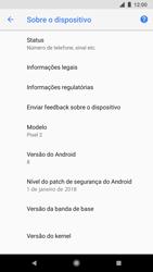 Como encontrar o número de IMEI do seu aparelho - Google Pixel 2 - Passo 5