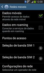 Como ativar e desativar uma rede de dados - Samsung Galaxy Core Plus - Passo 5