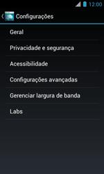 Como configurar a internet do seu aparelho (APN) - Motorola Primus Ferrari - Passo 21