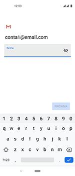 Como configurar seu celular para receber e enviar e-mails - Motorola One Vision - Passo 11