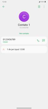 Como bloquear chamadas de um número específico - LG Velvet 5G - Passo 4