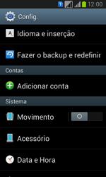 Como restaurar as configurações originais do seu aparelho - Samsung Galaxy Win - Passo 4