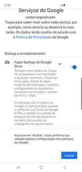 Como configurar seu celular para receber e enviar e-mails - Samsung Galaxy S10 - Passo 12