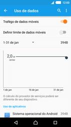 Como configurar a internet do seu aparelho (APN) - Sony Xperia M4 Aqua - Passo 4