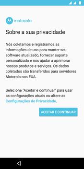Como configurar pela primeira vez - Motorola Moto G6 Plus - Passo 10
