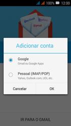 Como configurar seu celular para receber e enviar e-mails - Huawei Y3 - Passo 7