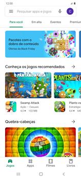 Como baixar aplicativos - Samsung Galaxy S20 Plus 5G - Passo 4