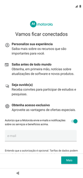 Como configurar pela primeira vez - Motorola Moto G8 Power - Passo 12
