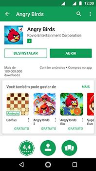 Como baixar aplicativos - Motorola Moto Z2 Play - Passo 16
