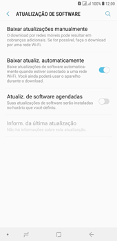 Como atualizar o software do seu aparelho - Samsung Galaxy J4+ - Passo 5