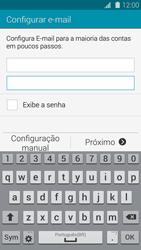 Como configurar seu celular para receber e enviar e-mails - Samsung Galaxy S5 - Passo 6