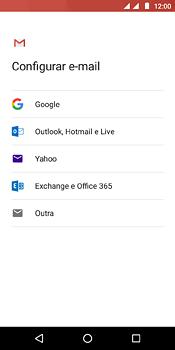 Como configurar seu celular para receber e enviar e-mails - Motorola Moto E5 - Passo 7