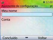 Como configurar seu celular para receber e enviar e-mails - Huawei U6020 - Passo 13