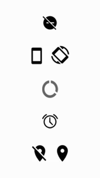 Explicação dos ícones - Motorola Moto G5s Plus - Passo 9